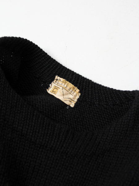 vintage 30s men's sweater