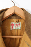 30s Duxbak hunting coat label