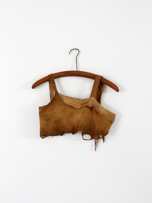 vintage Native American buckskin top