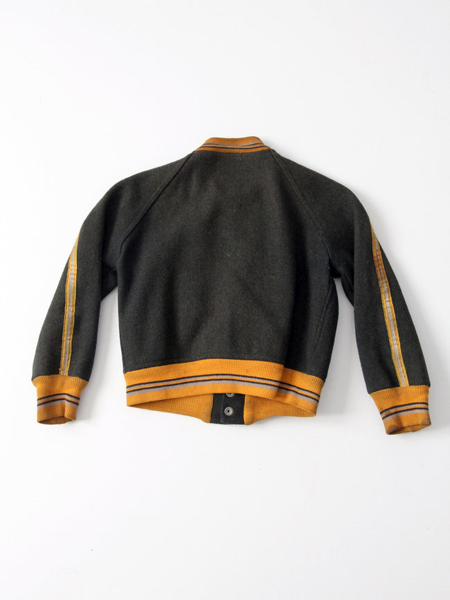 1950s UMC wool baseball jacket