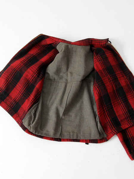 1940s wool hunting jacket