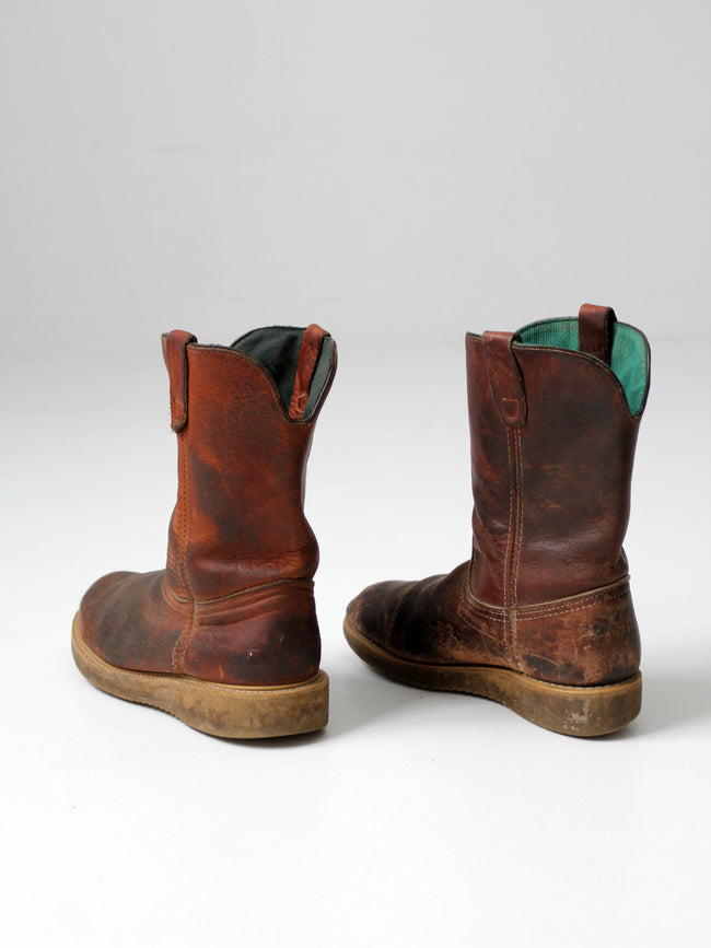 vintage men's Georgia work boots
