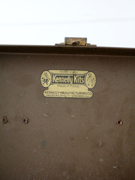 vintage Kennedy Kits tool box