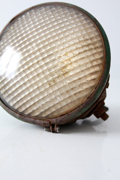 vintage industrial tractor light