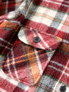 vintage Montgomery Ward plaid shirt jacket