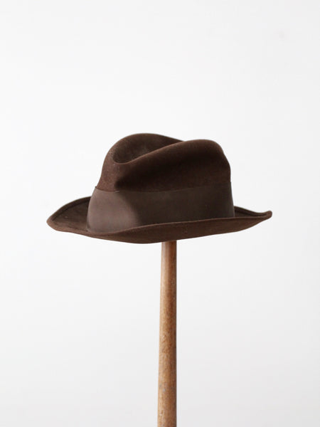 38951a891 vintage 60s Stetson fedora