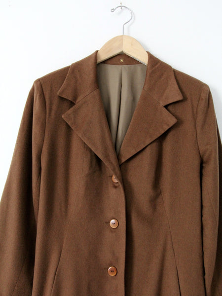 Peter Cohen cashmere coat
