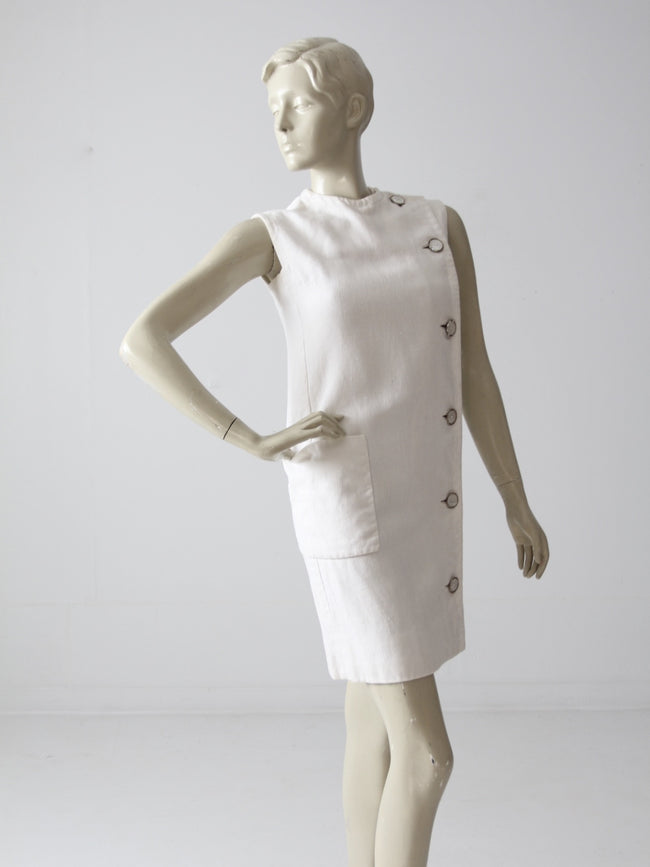 vintage 60s Marie McCarthy for Larry Aldrich shift dress