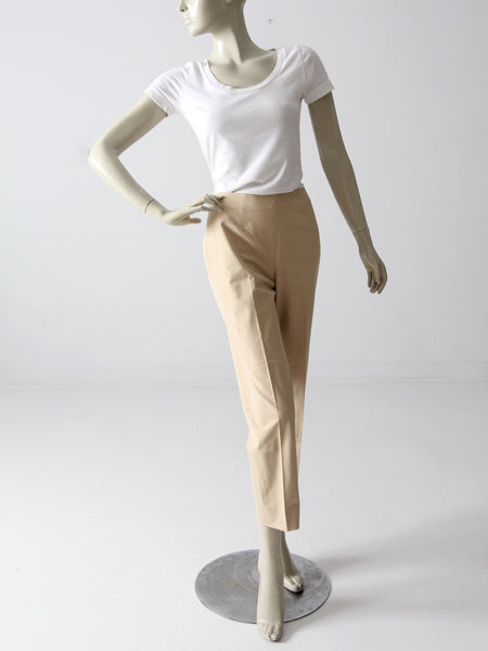 pre-owned Piazza Sempione cropped trousers