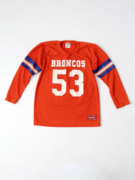 vintage Broncos football Rawlings youth jersey