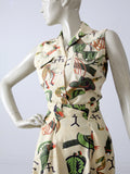 vintage 50s Panhandle Slim skirt and blouse set