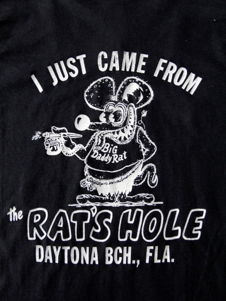 vintage Rat's Hole Daytona Beach Bike Week t-shirt