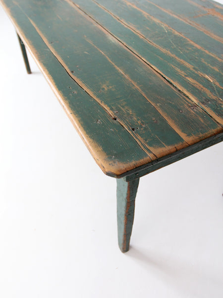 antique primitive wood table