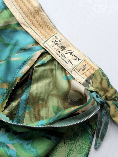 vintage Eddy George skirt label