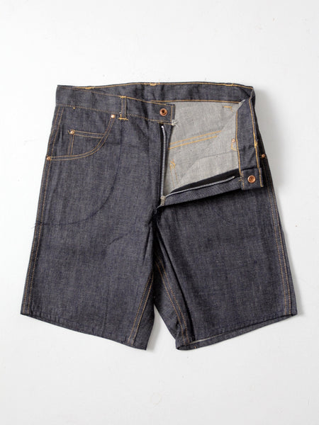 vintage 60s Saddle Busters denim shorts