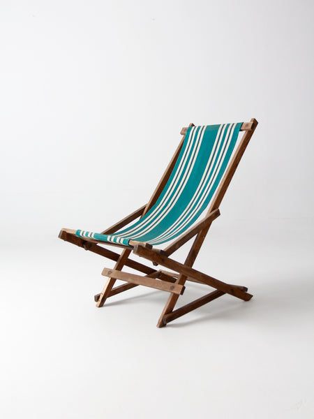 vintage children's deck chair