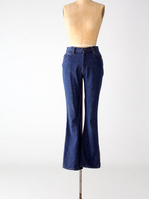 vintage 60s Levi's for Gals denim jeans, 28 x 31