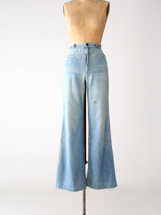 vintage Happy Legs denim jeans