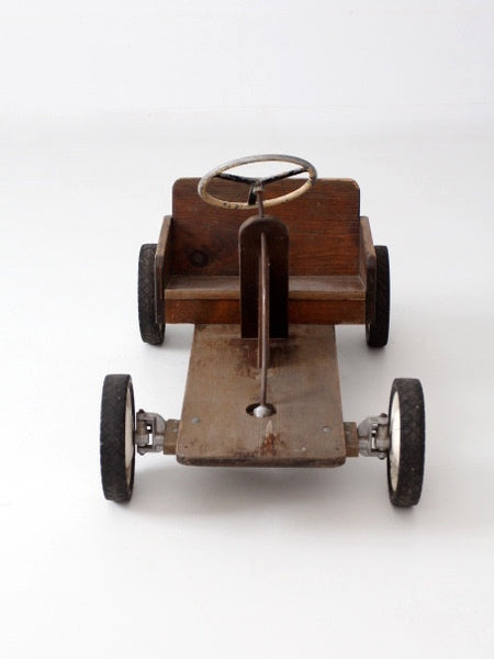 vintage toy riding car