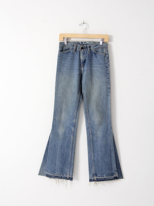 vintage 70s Levi's bell bottoms, 28 x 32