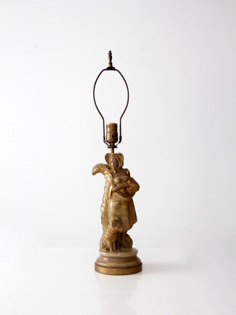 vintage Kupur sculptural table lamp