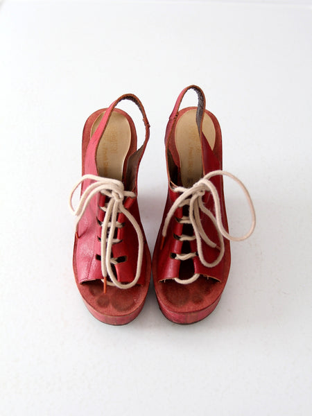 vintage 70s platforms from Shoes n Stuff by Frank Sbicca