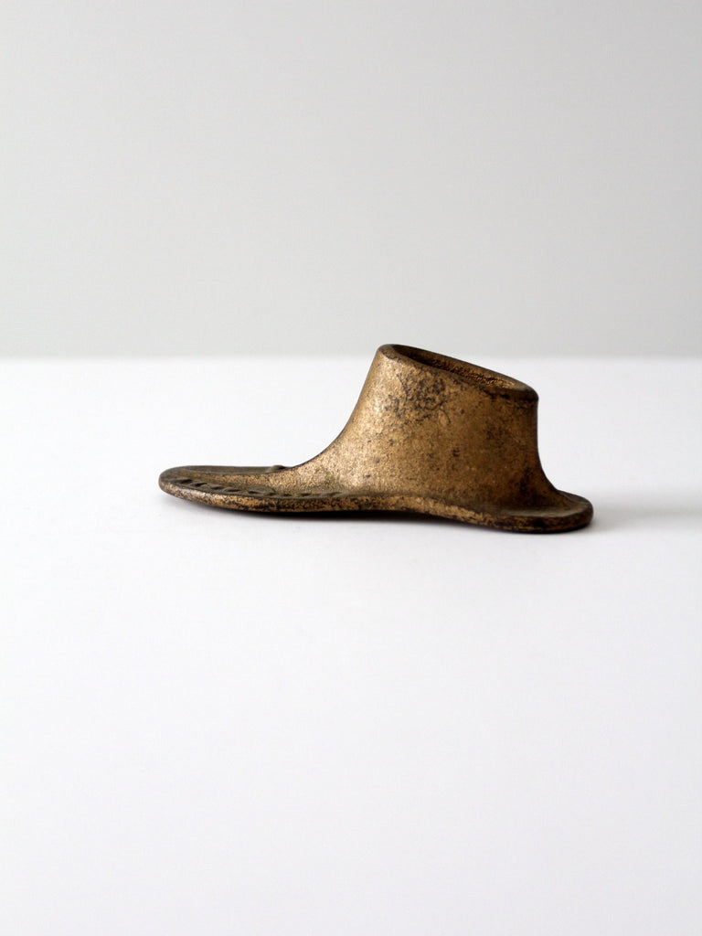 1800s cast iron Malleable shoe form