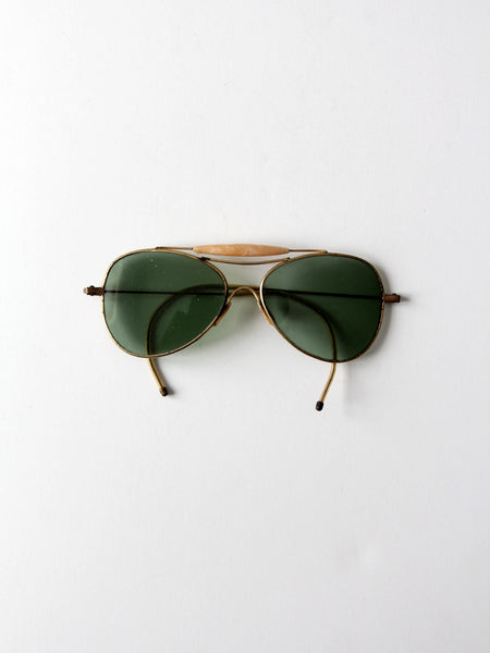 vintage aviator sunglasses
