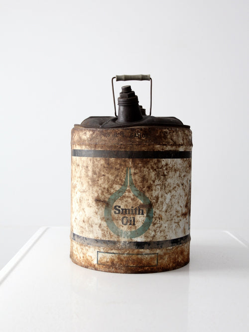 vintage Smith Oil can