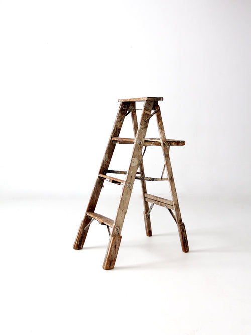 vintage painter's ladder