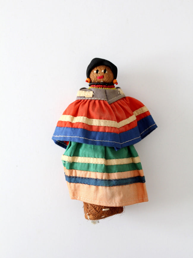 vintage Seminole Native American doll