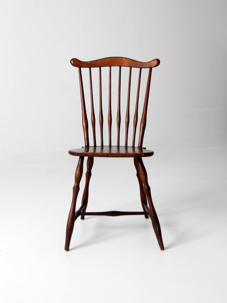antique spindle back farmhouse chair