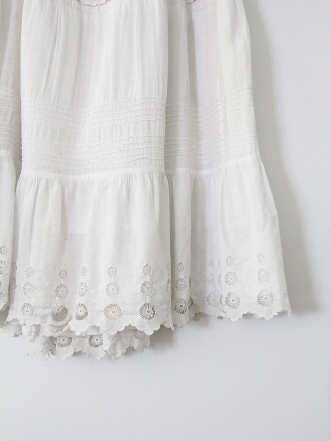 antique 1800s petticoat