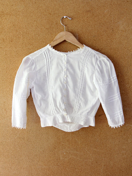 Edwardian embroidered blouse