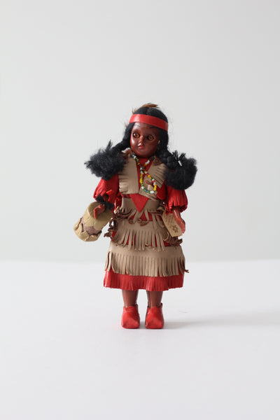 vintage Native doll