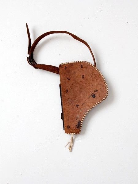 vintage children's holster with belt