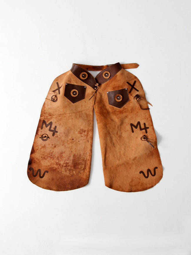 vintage 50s children's chaps by Tex Tan