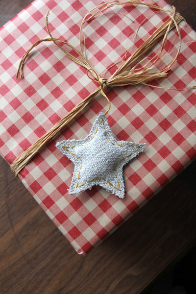 The Star holiday ornament