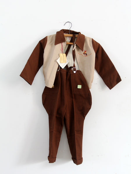 vintage children's outfit