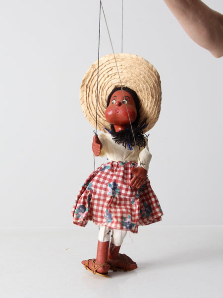vintage Mexican marionettes collection