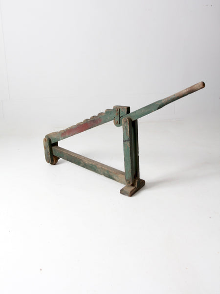 antique wagon jack