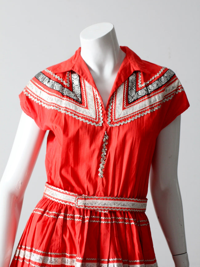 vintage 50s Thunderbird Fashions dress