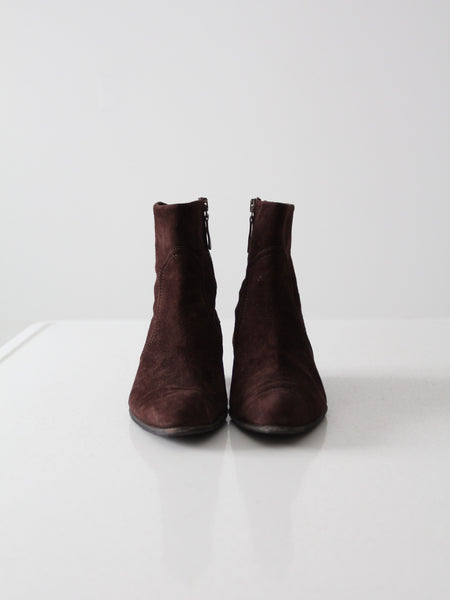 pre-owned Leggiadro ankle boots, size 6.5