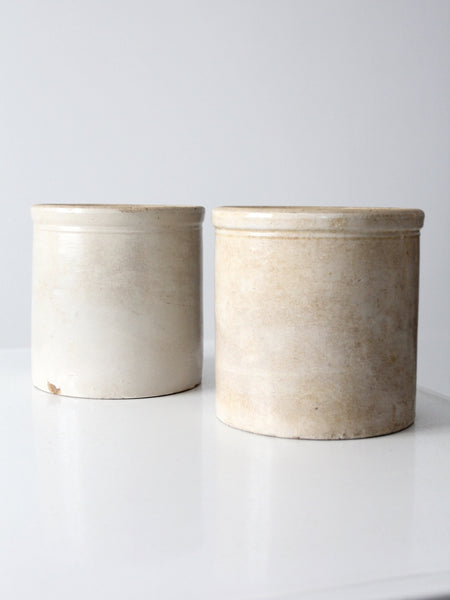 antique stoneware crocks 2 gallon