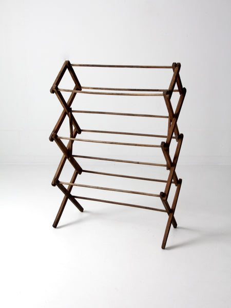 antique drying rack