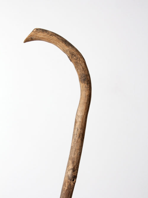 antique wooden cane