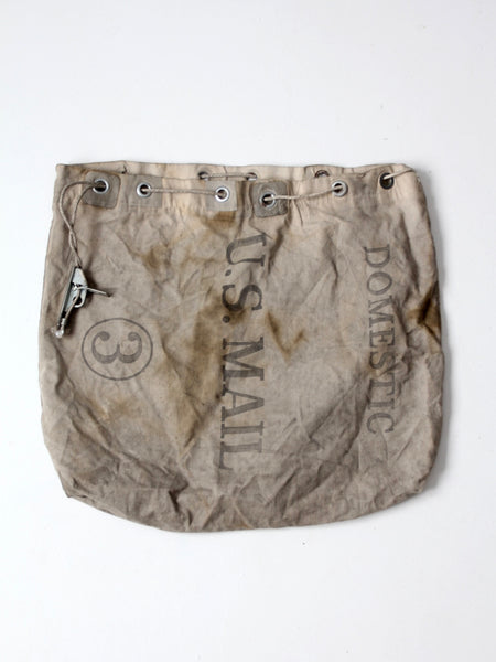 vintage U.S. Mail carrier bag 1981