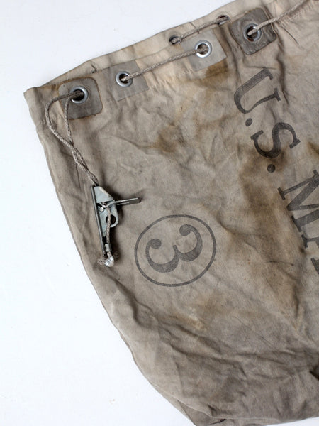 vintage U.S. Mail carrier bag
