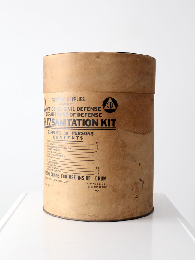Survival Kit box circa 1962