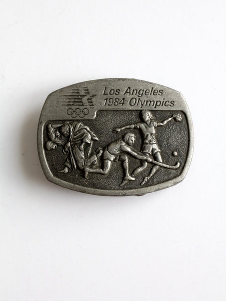 1984 Los Angeles Olympic Summer Games limited edition belt buckle